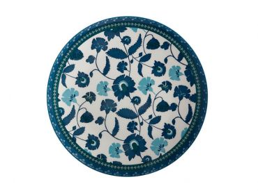 Rhapsody Dinner Plate 26.5cm Blue
