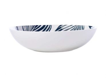 Panama Coupe Bowl 20cm White & Grey