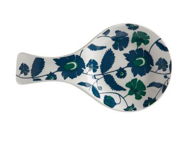 Rhapsody Spoon Rest Blue