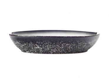 Caviar Granite Oval Bowl 30x20cm