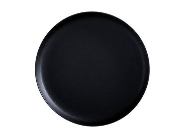 Caviar High Rim Platter 33cm Black