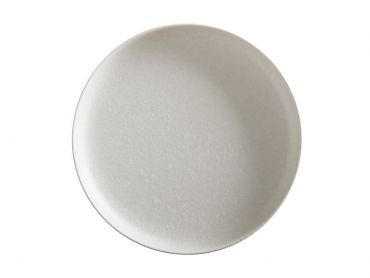 Caviar High Rim Platter 28cm White