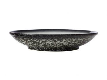 Caviar Footed Bowl 25cm Granite