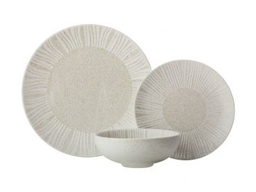 Solaris Dinner Set 12pc Sand