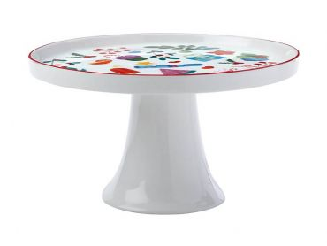 Joy Love Peace Footed Cake Stand 20cm