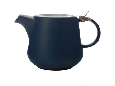 Tint Teapot 600ML Navy