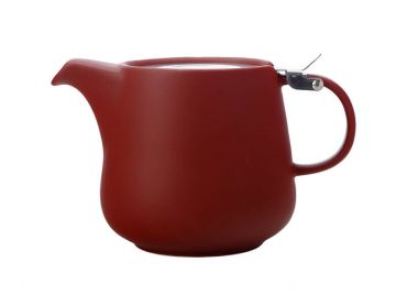 Tint Teapot 600ML Burgundy