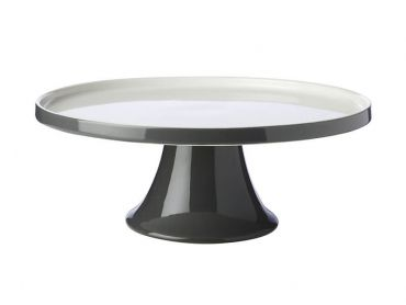 Mezze Cake Stand 30cm Charcoal Gift Boxed