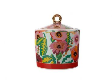 Teas & C's Glastonbury Sugar Bowl 320ML Poppy
