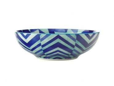 Reef Coupe Bowl 18cm Triangles