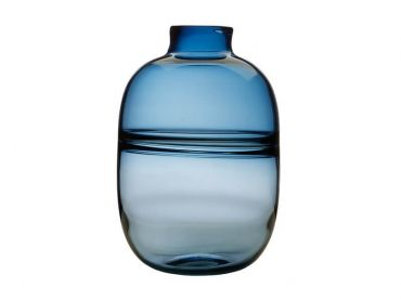 Flourish Orbit Vase 31cm Blue