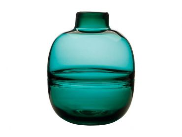 Flourish Orbit Vase 25cm Green