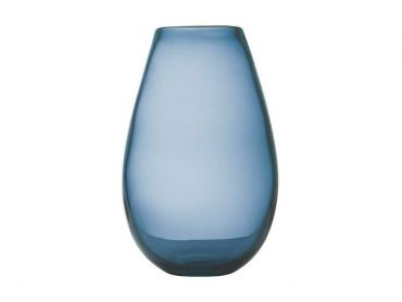 Flourish Taper Vase 21cm Blue