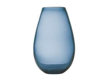 Flourish Taper Vase 26cm Blue