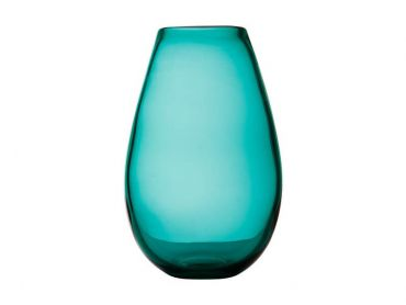Flourish Taper Vase 21cm Green