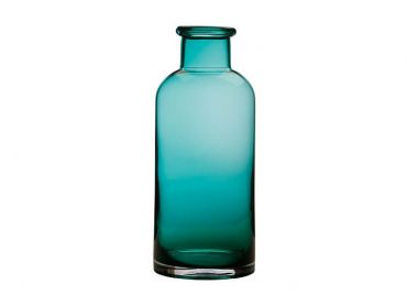Flourish Bottle Vase 30cm Green