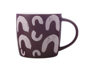 Macaroni Mug 440ML Purple