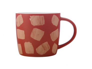 Macaroni Mug 440ML Terracotta