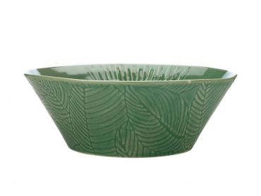 Panama Conical Bowl 15cm Flower Kiwi