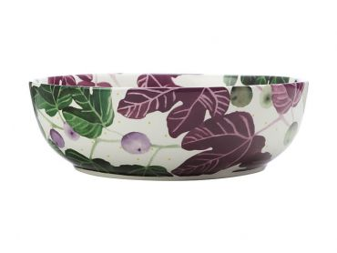 Fig Garden Round Serving Bowl 25cm Gift Boxed
