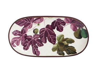 Fig Garden Oblong Platter 33cm Gift Boxed