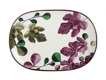 Fig Garden Oblong Platter 40cm Gift Boxed