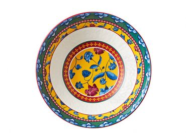 Rhapsody Round Bowl 30cm Red Gift Boxed