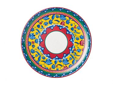 Rhapsody Round Platter 36.5cm Red Gift Boxed