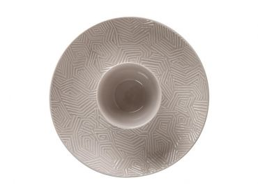 Dune Chip & Dip 30cm Taupe Gift Boxed