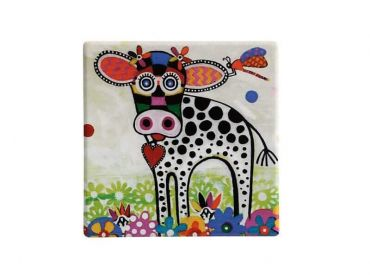 Smile Style Ceramic Tile Coaster Betsy 9cm
