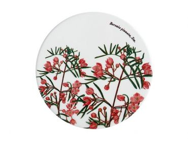 Royal Botanic Gardens Ceramic Round Coaster 9.5cm Boronia