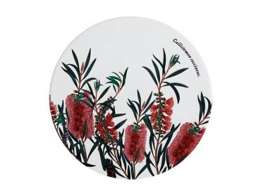 Royal Botanic Gardens Ceramic Round Trivet 20cm Bottlebrush