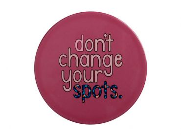 Kasey Rainbow Be Kind Ceramic Coaster 10cm Don't Change Your Spots