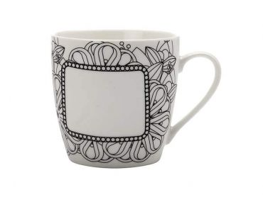 Mindfulness Messages Paint-Your-Own Mug Ribbons 470ML