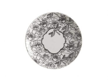 Mindfulness Messages Paint-Your-Own Plate Dragonfly 19cm