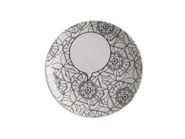 Mindfulness Messages Paint-Your-Own Plate Kaleidoscope 19cm