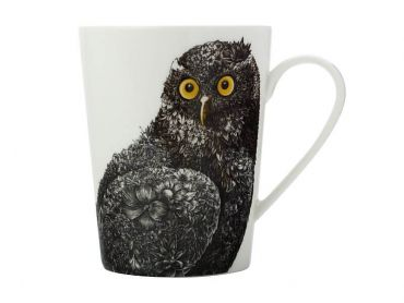 Marini Ferlazzo Birds Mug 450ML Tall Barking Owl