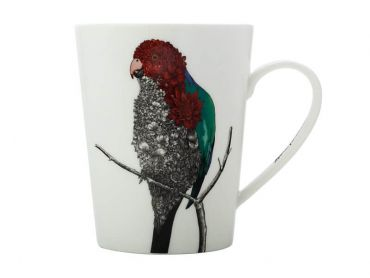 Marini Ferlazzo Birds Mug 450ML Tall Australian King Parrot