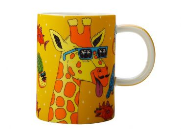 Mulga the Artist Mug 450ML Giraffe