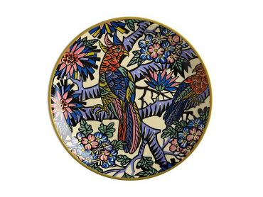 Greg Irvine Plate 20cm Birds In Paradise