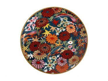 Greg Irvine Plate 20cm Flores Gift Boxed