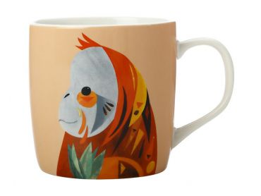 Pete Cromer Wildlife Mug 375ML Orangutan Gift Boxed