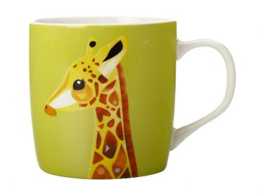 Pete Cromer Wildlife Mug 375ML Giraffe Gift Boxed