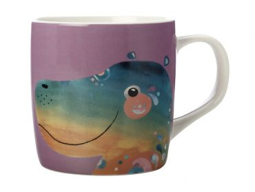 Pete Cromer Wildlife Mug 375ML Hippo Gift Boxed