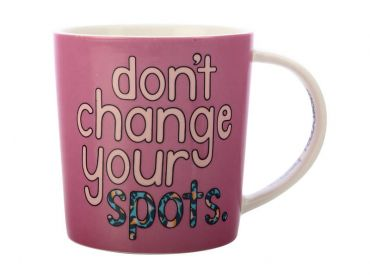 Kasey Rainbow Be Kind Mug 380ML Don't Change Your Spots Gift Boxed