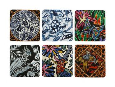 Greg Irvine Coaster Asst 10.5cm Set of 6