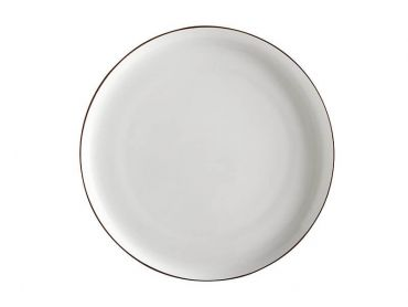 Cashmere Luxe High Rim Plate 26.5cm Gold