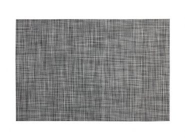 Crosshatch Placemat Black 45x30cm