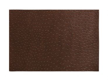 Ostrich Placemat Brown 43x30cm