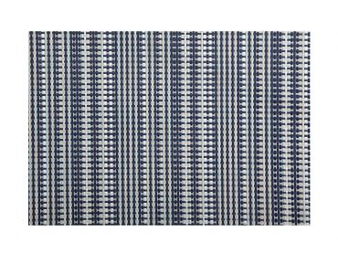 Placemat 45x30cm Woven Navy